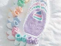 Crochet : Baby Blankets & Items