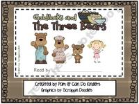 Bears - Goldilocks and the Three Bears