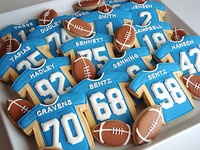 Sports Cookies (decorated)