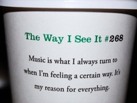Music is my Refuge