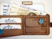 Gutschein und Geldverpackung