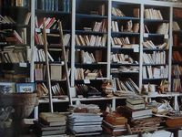 Books, Bookshelves and Book Art