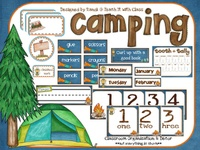 camping classrm theme