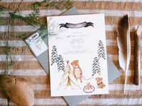 DESIGN // invitations & envelopes