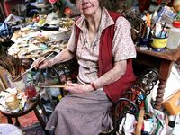 Margaret Olley - renowned and much loved Australian still life artist.  Born 1923 - died 2011 aged 88