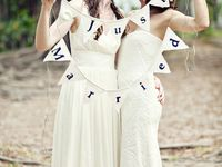Civil Partnerships Two Brides how gorgeous are these lovely brides very beautiful gay lesbian weddings