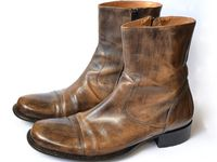 Mens leather boots