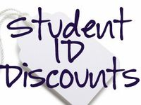 Student ID discounts