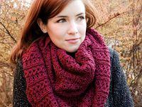 Infinity Scarf Patterns (Knit/Crochet)