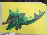 dinosaure au préscolaire