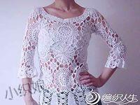 blusas tejidas al crochet