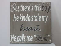 Images, thoughts, and philosophies about mothers, sons, motherhood, and boys.