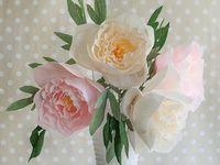 Papír virágok / Paper flowers