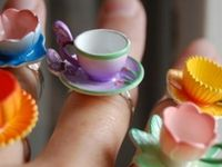 A cornucopia of tea related paraphernalia I love.
