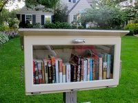 Free Library- borrow a book