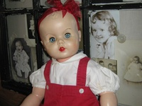 Mostly vintage and antique dolls on this board
