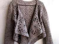 CROCHET-JACKET,BALERO,SWEATER