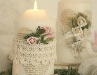 Embellished candles