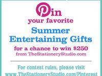 The Stationery Studio Summer Contest