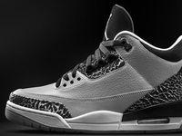 2014 New Style Cheap Jordan Retro Wolf Grey 3s ,Discount Cheap Jordan 3 Shoes Online For Shop http://www.onfootlocker.com/