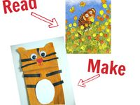 Ideas for a children's library activities and story time.