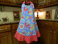 I have always loved aprons! I made them over the years for my sister and myself. A great part of history for women in in the world.