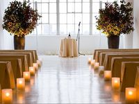 Aisles that let your guests know they are in for an incredibly stylish wedding day!  A #wedding ceremony #aisle.