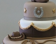 Cowboy/Cowgirl Cakes