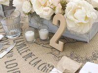 Wedding Theme - Burlap, Lace & Birch