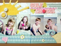 Ideas, sketches and inspiration for scrapbooking pages, layouts and projects.