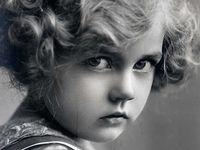 детское старое фото