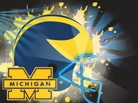 College Football Saturdays --Nothing Better!  GO BLUE!!!