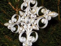 Quilling that pertains to anything Winter