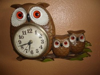 Owls, collectibles, old and new