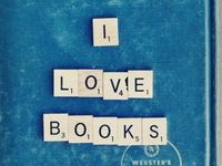 The love of books!