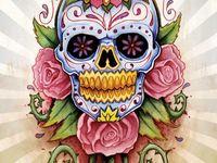 Day of the Dead...Sugar Skulls...