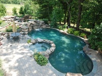 the many pools of my future home