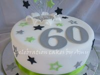 Cakes - 60th Birthday