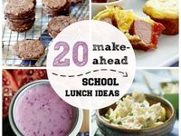 Fun Lunch/Snack Ideas/School Lunches