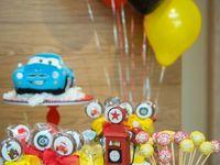 Cars theme birthday party