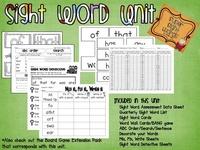 Teaching - ELA: Sight Words