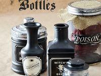 H:  halloween bottle ideas