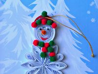 Quilling - Xmas Theme