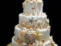 Indian Wedding inspirations: White Wedding Cakes