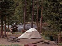 Hiking, roadtrips, campfire cooking recipes, gear, vintage campers, unique cabins & more.