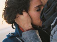 Forehead kissing