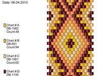 Beads - tutorials, charts, graphs