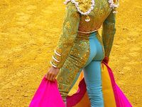 Matador is a very dangerous sport, but the men are so handsome and there suits are beautiful.