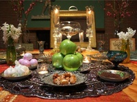 Persian: نوروز /noʊruz; meaning 'New Day', the traditional Persian New Year, is celebrated in many countries that were influenced by the Persian Empire.