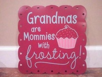Grandchildren create Nanas
